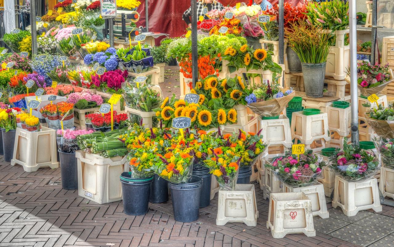 ดอกไม้ที่นิยมจำหน่ายในร้านดอกไม้