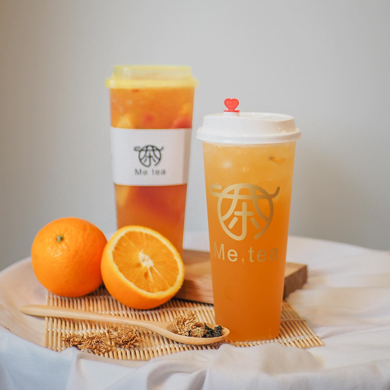 Order Food Online From Me Tea Menu ต้นตำรับชาผลไม้จากจีนที่คอชาต้องหลงรัก